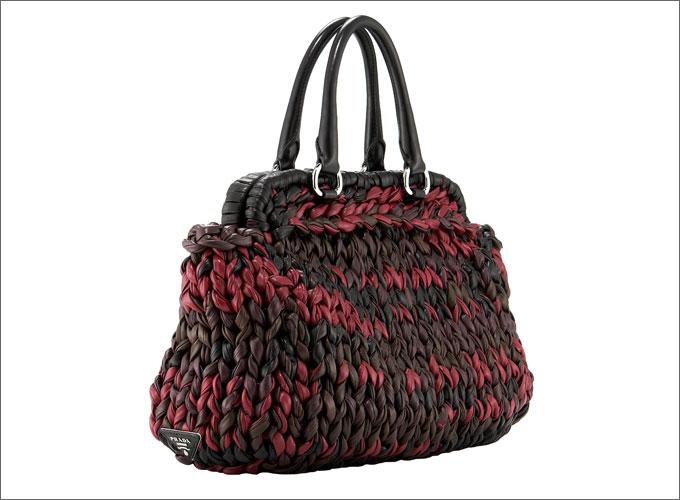 Вязаные сумки Prada