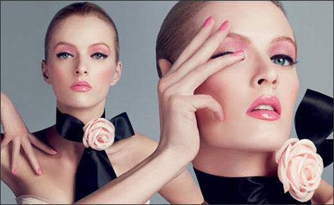 Весенний макияж в стиле Dior: