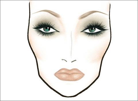 Схемы макияжа.