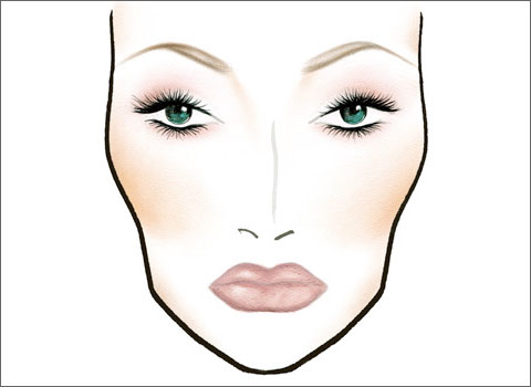Схемы макияжа макияжем