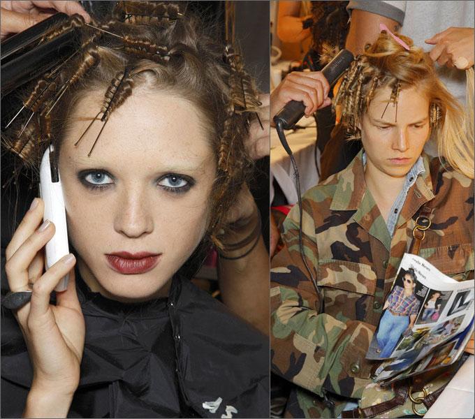 Как накрутить волосы на шпильки