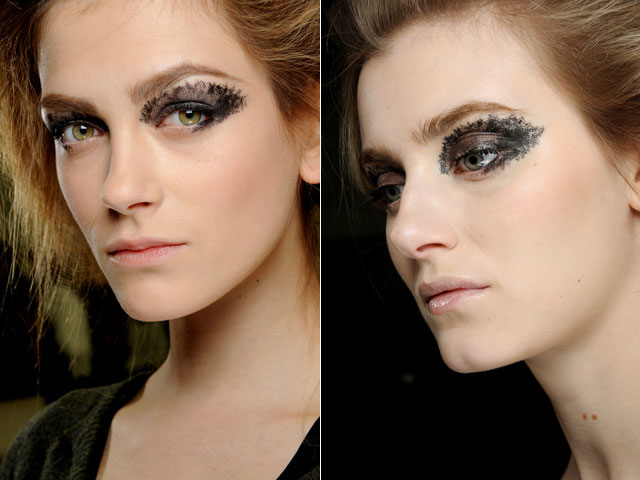 smoky eyes: Chanel