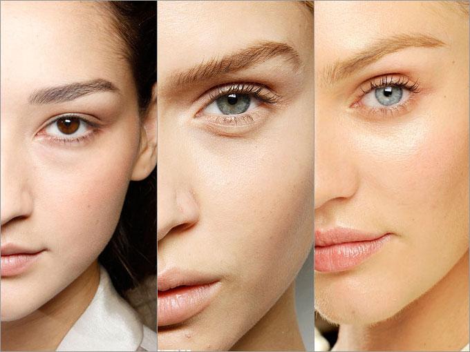 Схемы макияжа в пастельных