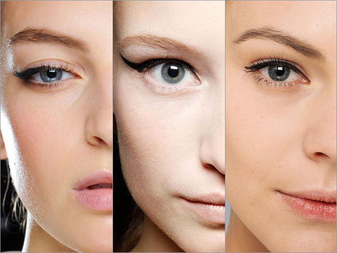 Схемы актуального макияжа.