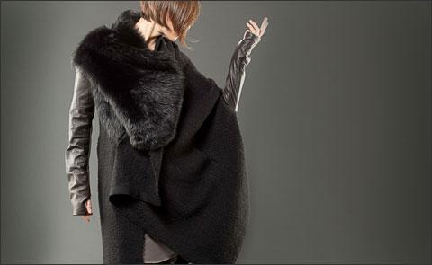 Необычный крой от Alessandra Marchi: коллекция осень-зима 2010-11