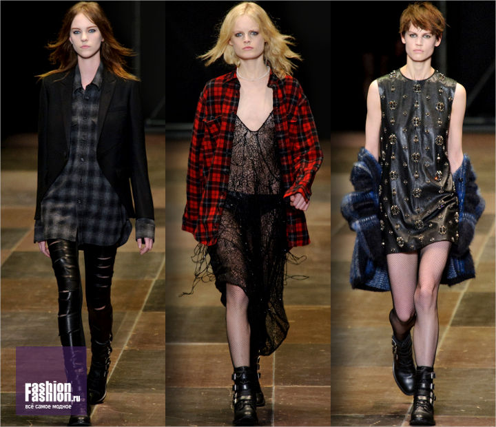 Коллекция от Saint Laurent