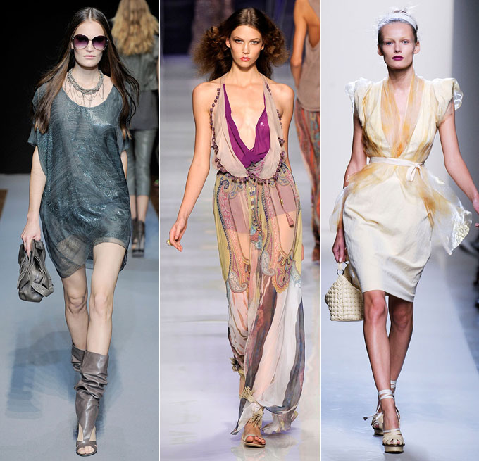 Costume National, Etro, Bottega Veneta