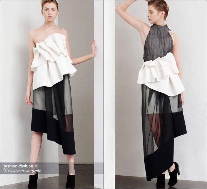 пышная прозрачная юбка: