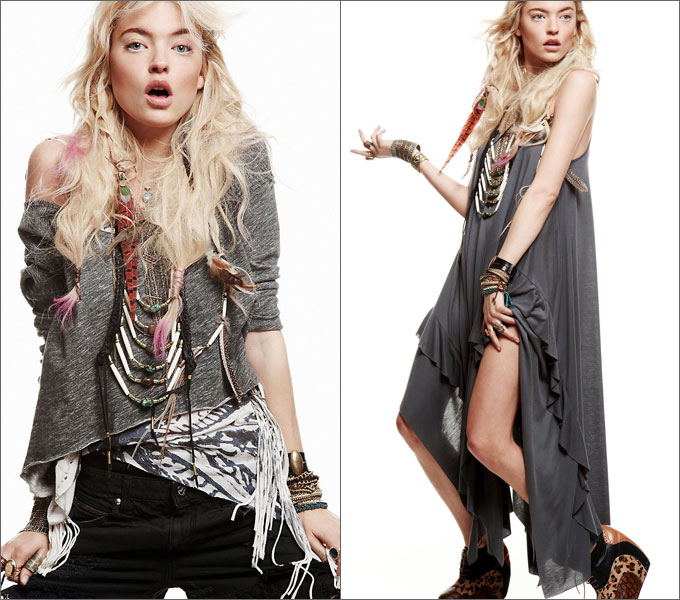 Lookbook от Free People (июнь 2011)