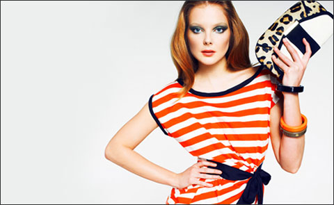 Color & Stripes: летний lookbook от Mango