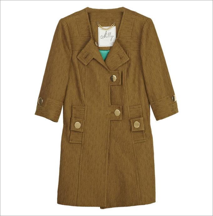 ...топом с орнаментом и крупными украшениями.  С чем носить такое пальто?