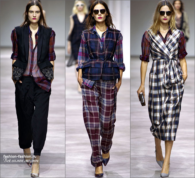 Коллекция весна-лето 2013 Dries Van Noten