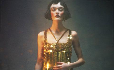 Вечерние платья в стиле Art Deco.