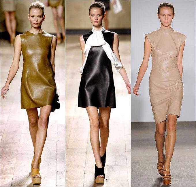 Картинки по запросу кожаные платья