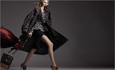 «Леопардовое» пальто: что купить и с чем носить