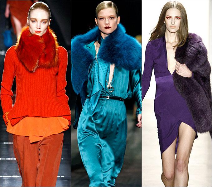 Модная верхняя одежда сезона осень-зима 2011-2012 Color
