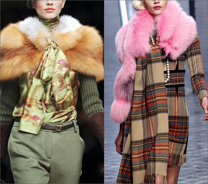 Модная верхняя одежда сезона осень-зима 2011-2012 Lenty
