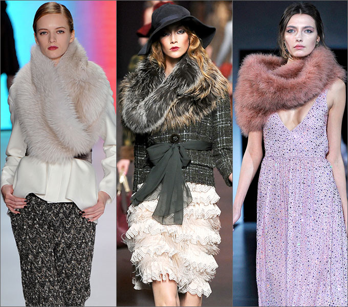 Модная верхняя одежда сезона осень-зима 2011-2012 Snood