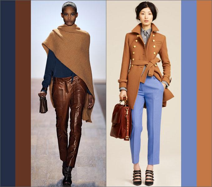 Сочетание одежды в сезоне осень-зима 2011-2012 Blue1