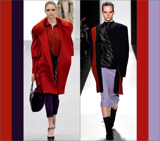 Сочетание одежды в сезоне осень-зима 2011-2012 Red2