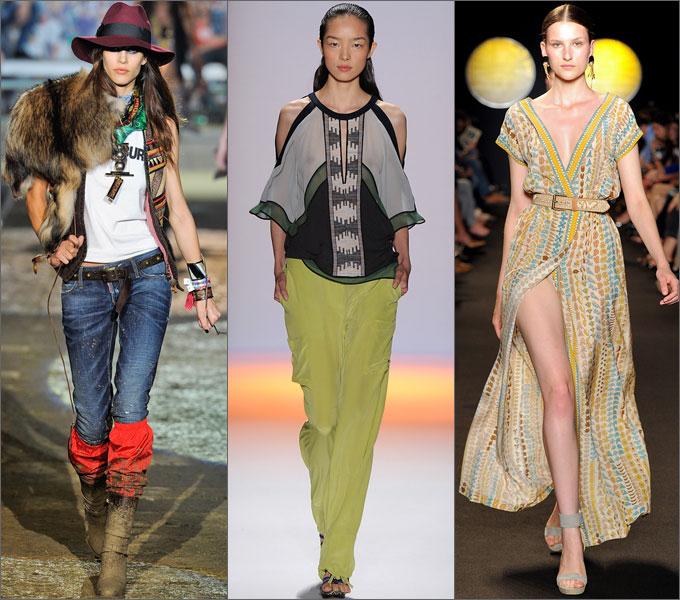 Мода - это творчество! Trend_amerindian